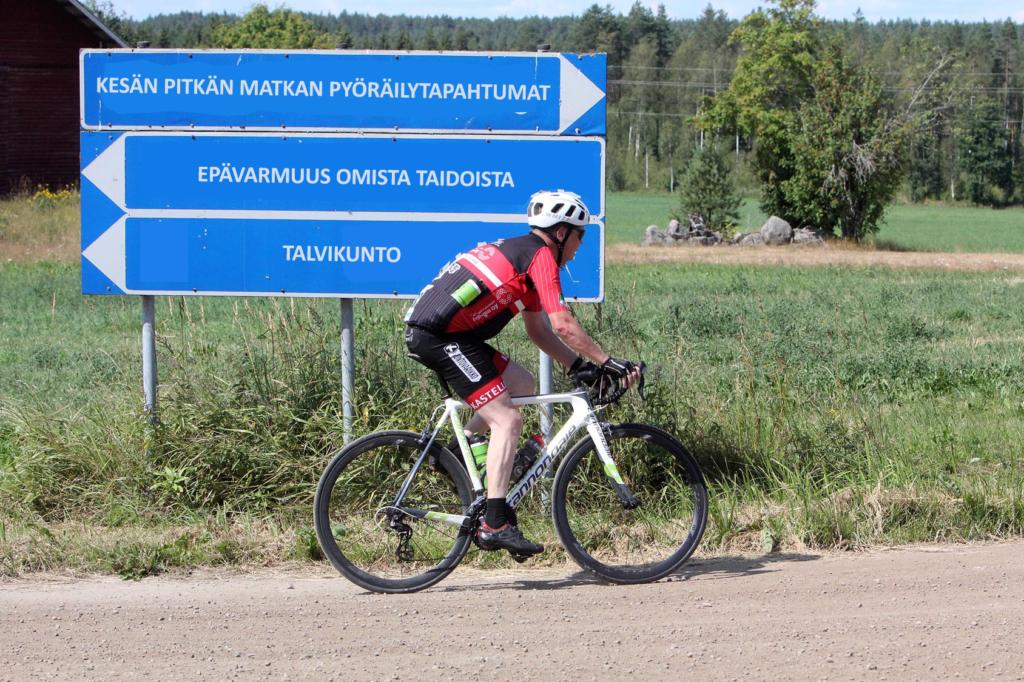 Tavoitteena pitkä pyöräily-harjoitusryhmän esitekuva